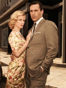January Jones, Jon Hamm