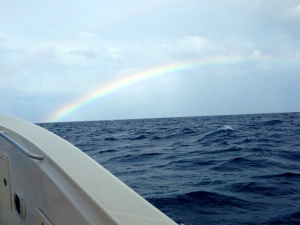 Somewhere over the rainbow, there were 25 Mahi waiting for two Kansas girls.