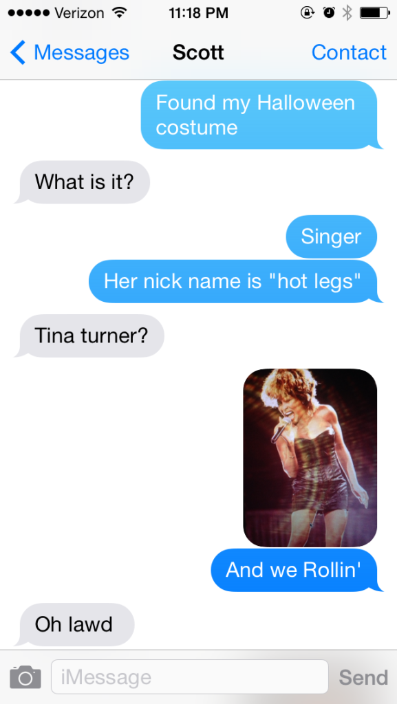 Tina is on the short list.